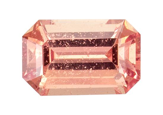 peach sapphire loose Gemstone