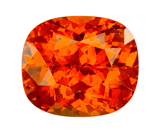 orange spessartite loose Gemstone