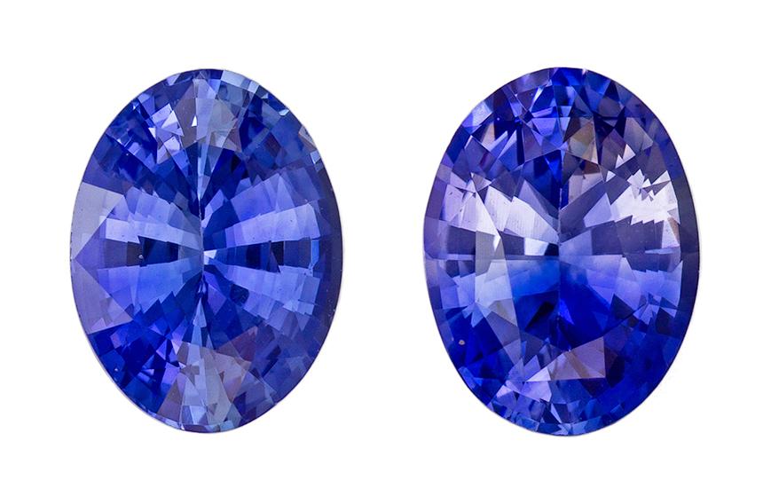 blue sapphire loose Gemstone