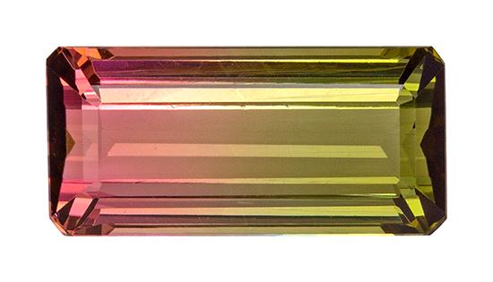 bicolor tourmaline loose Gemstone