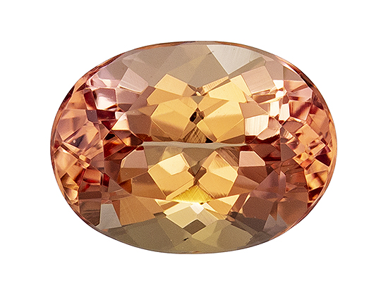 imperial topaz loose Gemstone
