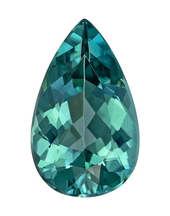 blue tourmaline loose Gemstone