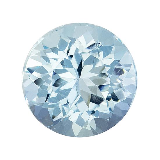 blue aqua loose Gemstone