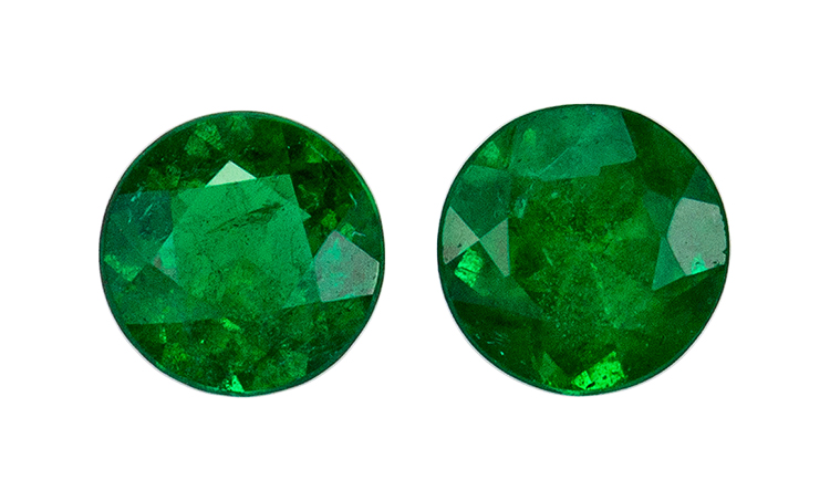 green emerald loose Gemstone