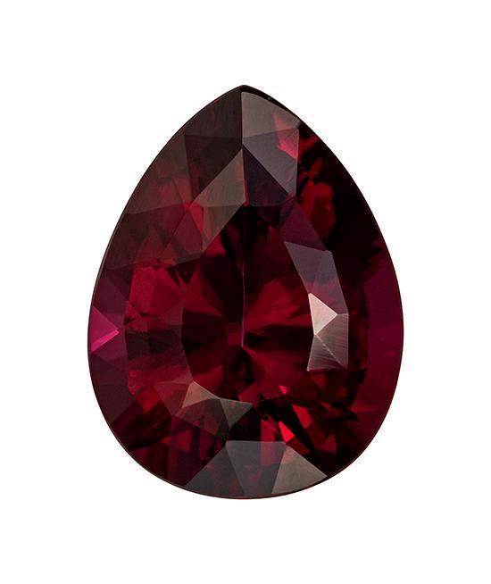 red rhodolite loose Gemstone