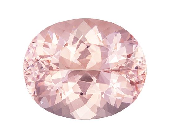 pink morganite loose Gemstone