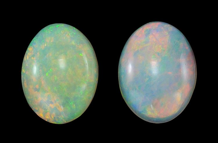 white opal loose Gemstone