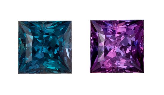 color change alexandrite loose Gemstone