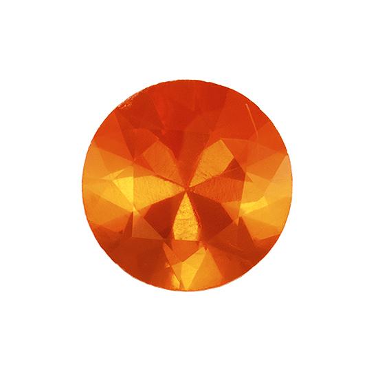 orange fire opal loose Gemstone
