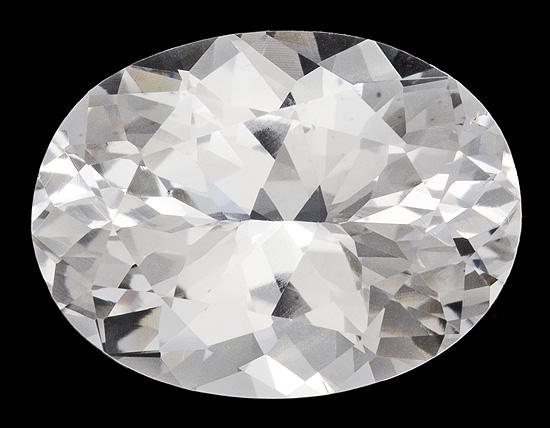 white danburite loose Gemstone