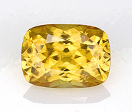 yellow zircon loose Gemstone