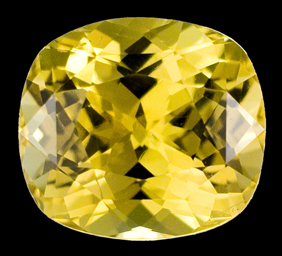 yellow chrysoberyl loose Gemstone