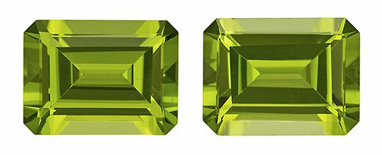 green peridot loose Gemstone