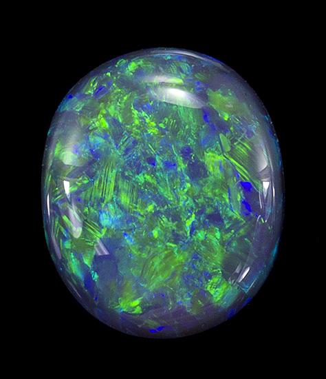 black opal loose Gemstone