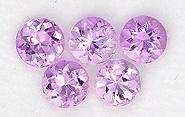 pink topaz loose Gemstone