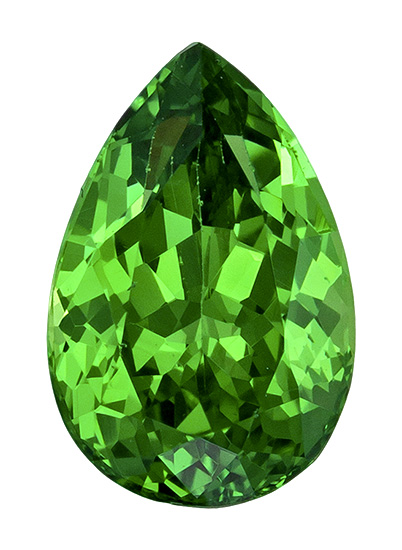 green tsavorite loose Gemstone