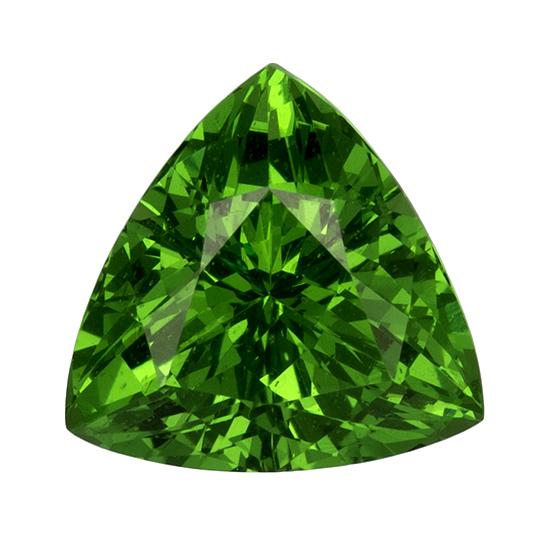 green tsavorite loose Gemstone
