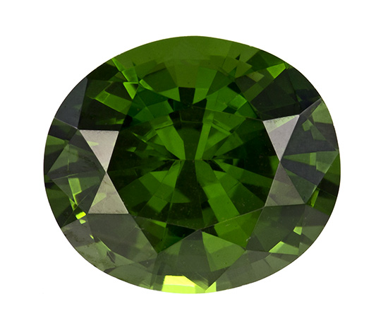 green zircon loose Gemstone