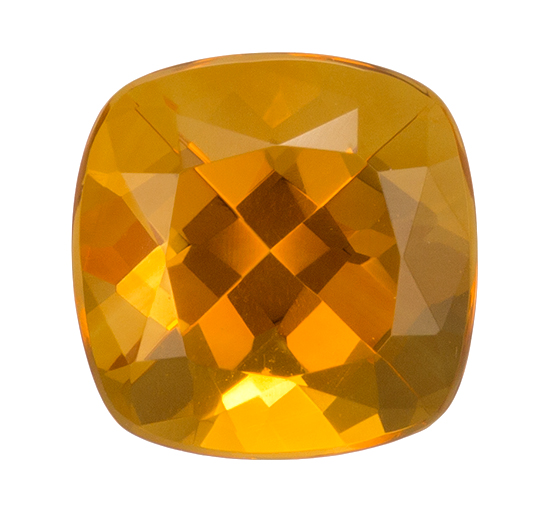 orange citrine loose Gemstone