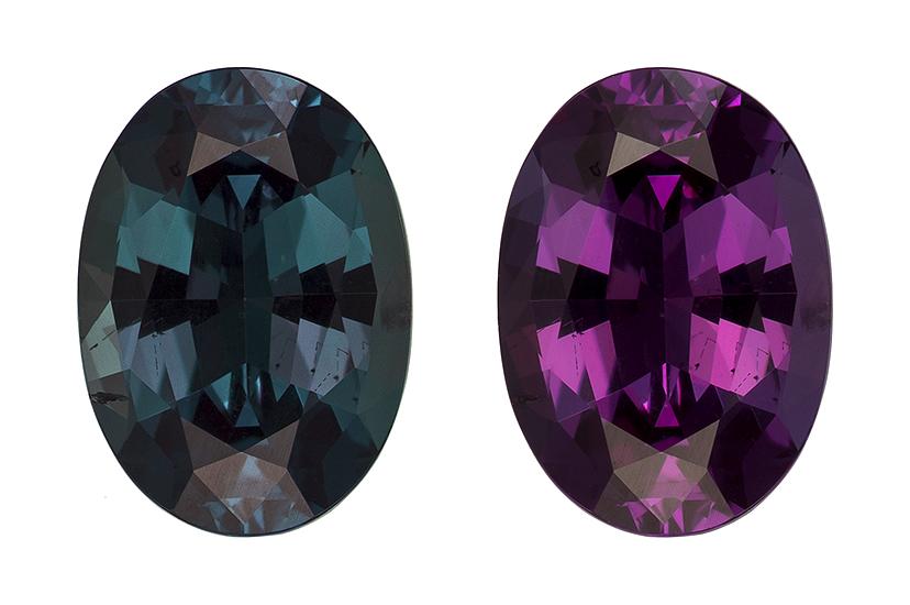 color change alexandrite loose Gemstone