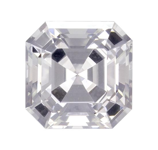 white sapphire loose Gemstone