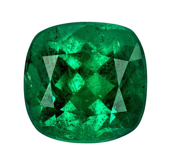 green emerald loose Gemstone