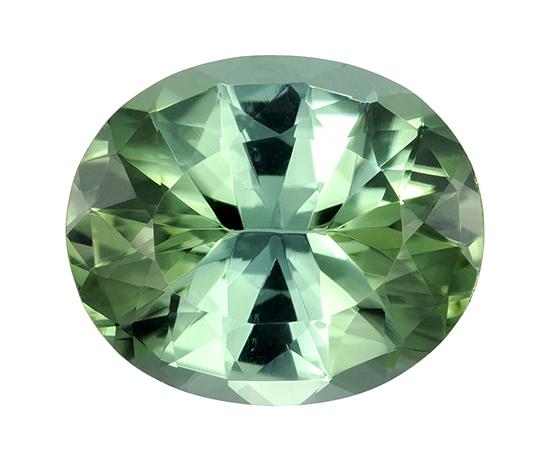 blue green tourmaline loose Gemstone