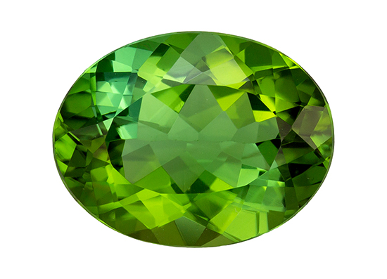 green tourmaline loose Gemstone