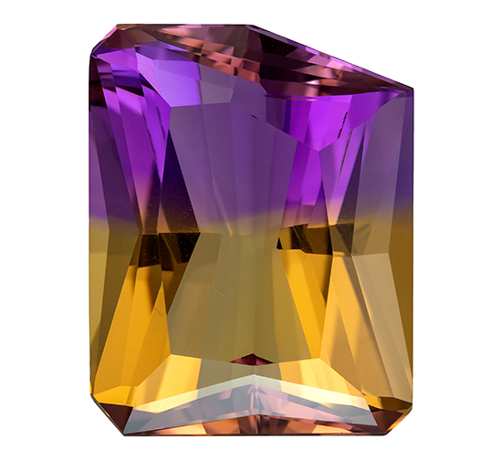 bicolor ametrine loose Gemstone