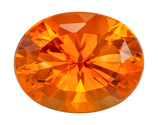 orange citrine loose Gemstone