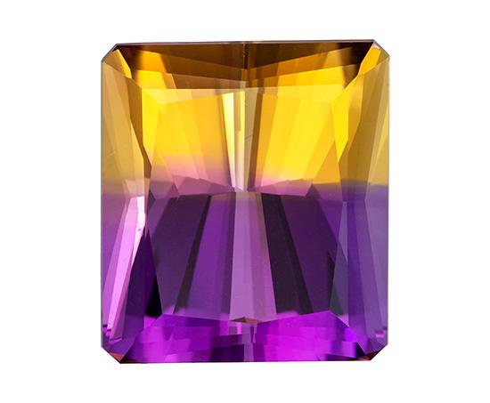 bicolor ametrine loose Gemstone