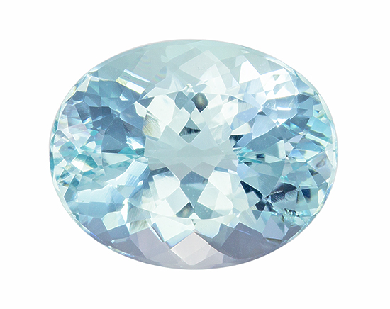 blue aqua loose Gemstone