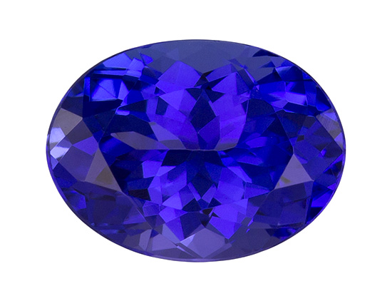 blue purple tanzanite loose Gemstone