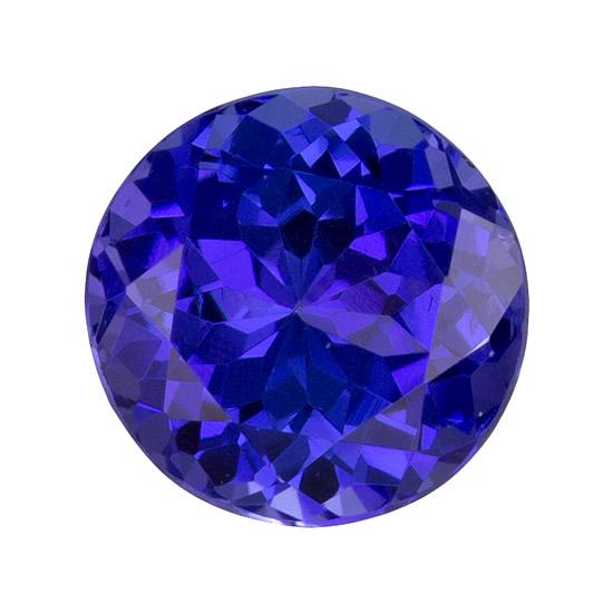 blue purple tanzanite loose Gemstone