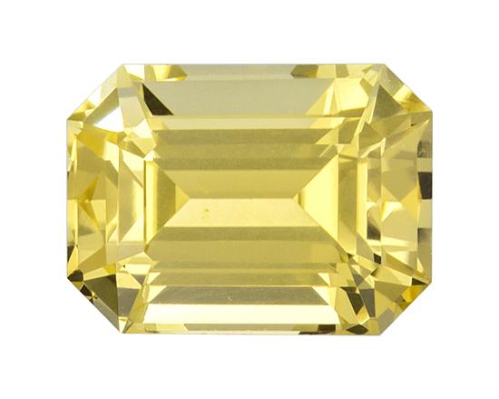 yellow sapphire loose Gemstone