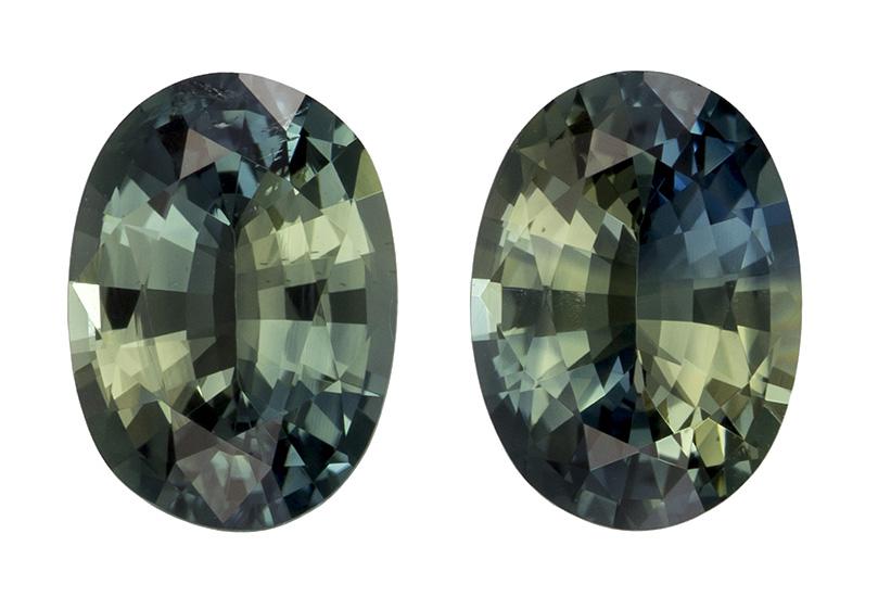 green sapphire loose Gemstone