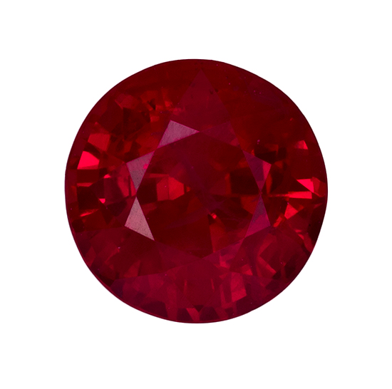 red ruby loose Gemstone