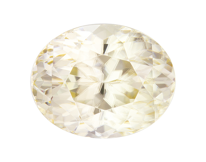 yellow zircon loose Gemstone