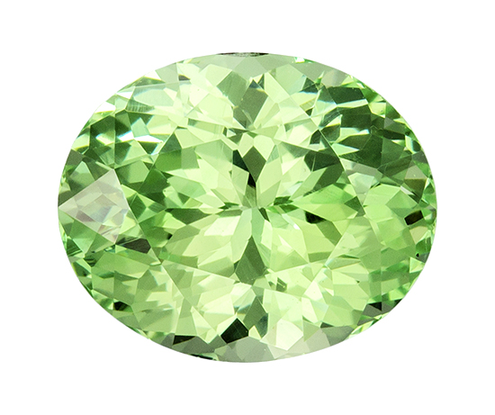 green garnet loose Gemstone