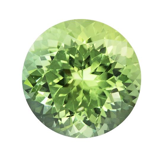 green tourmaline loose Gemstone