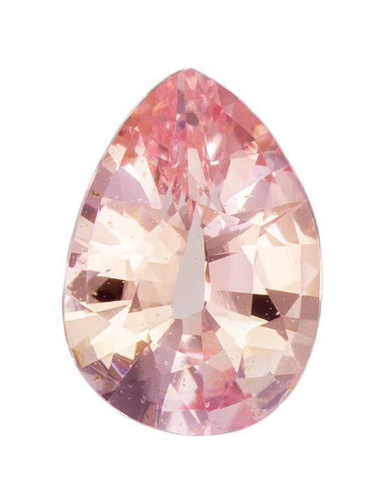 padparadscha sapphire loose Gemstone