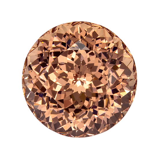 peach garnet loose Gemstone