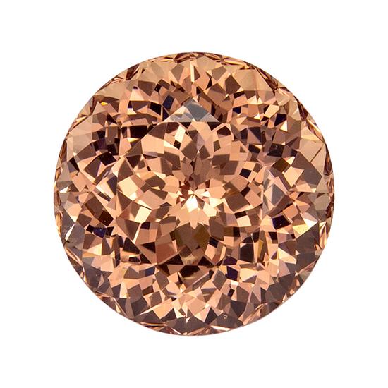 peach garnet loose Gemstone