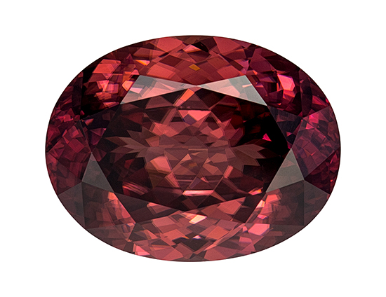 brown zircon loose Gemstone