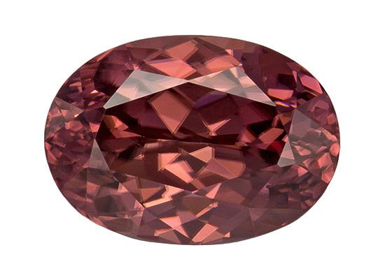brown zircon loose Gemstone