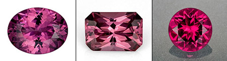 reddish pink gemstones 2011