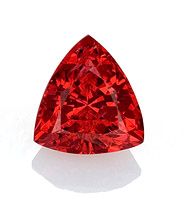 red trillion spinel