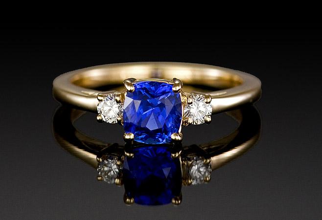 Sapphire Ring Gem 2000