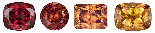 Natural Brown Zircon gem